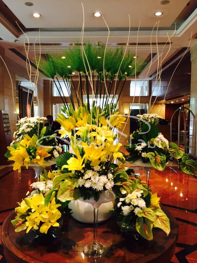 Wedding Flower Decoration Flower Table Decorations By Akhil Paul
