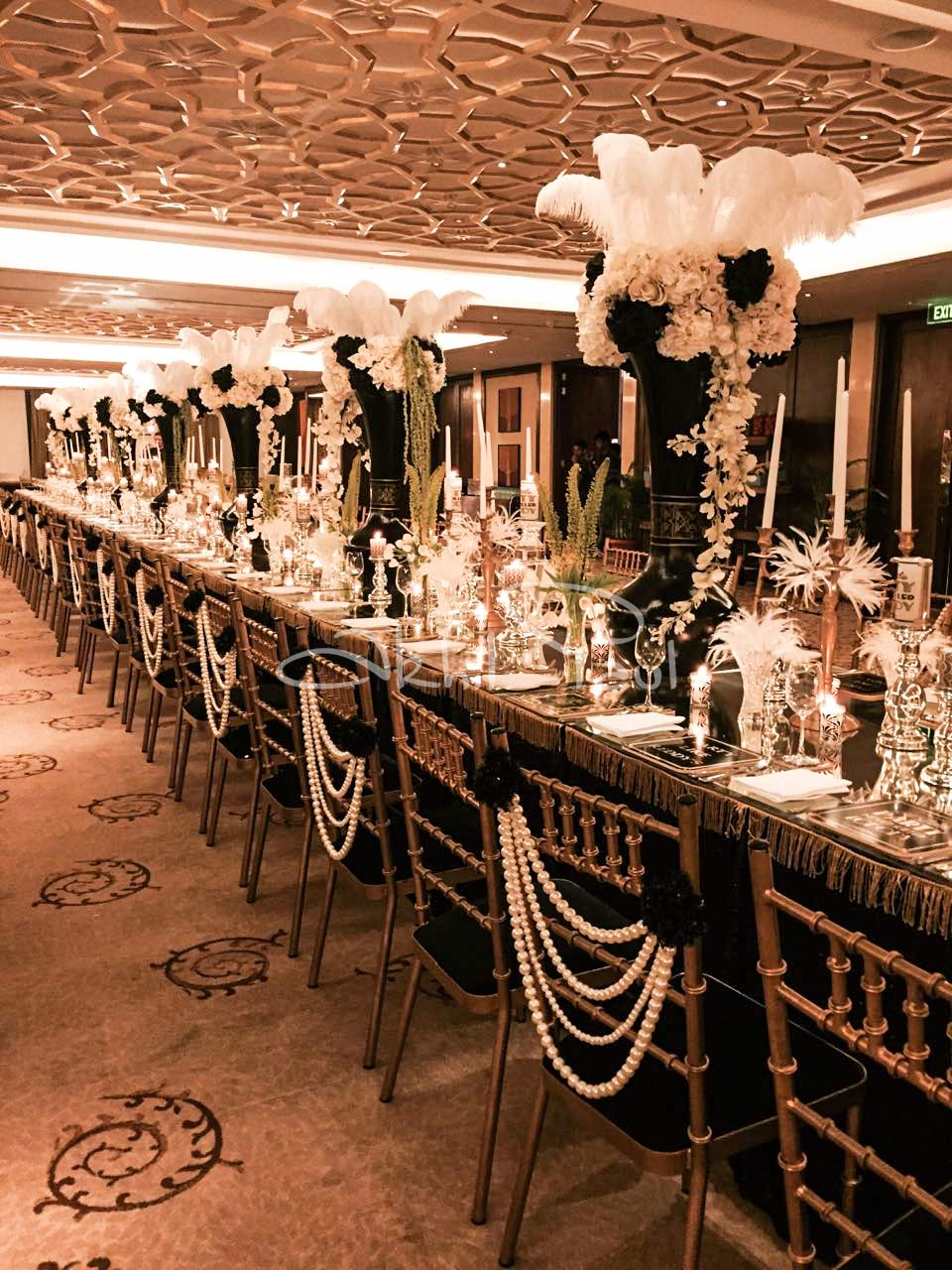 Long Table Decoration